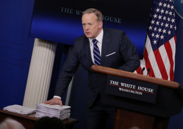 Sean Spicer Explains 'What's Not to Love' About Recent WikiLeaks Dump