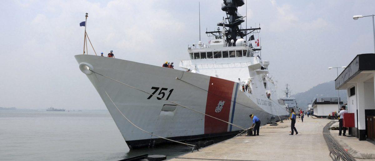 The U.S. Coast Guard Legend-class national security cutter USCGC Waesche. (Photo: REUTERS/U.S. Navy/Mass Communication Specialist 2nd Class Jessica Bidwell)