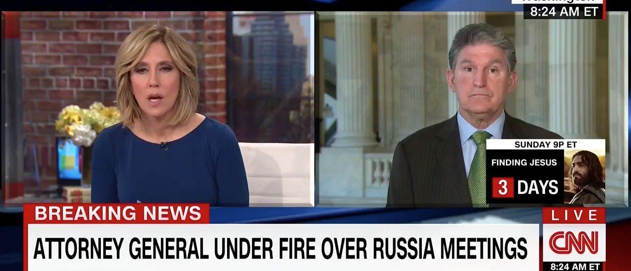 Alisyn Camerota, Joe Manchin (CNN)