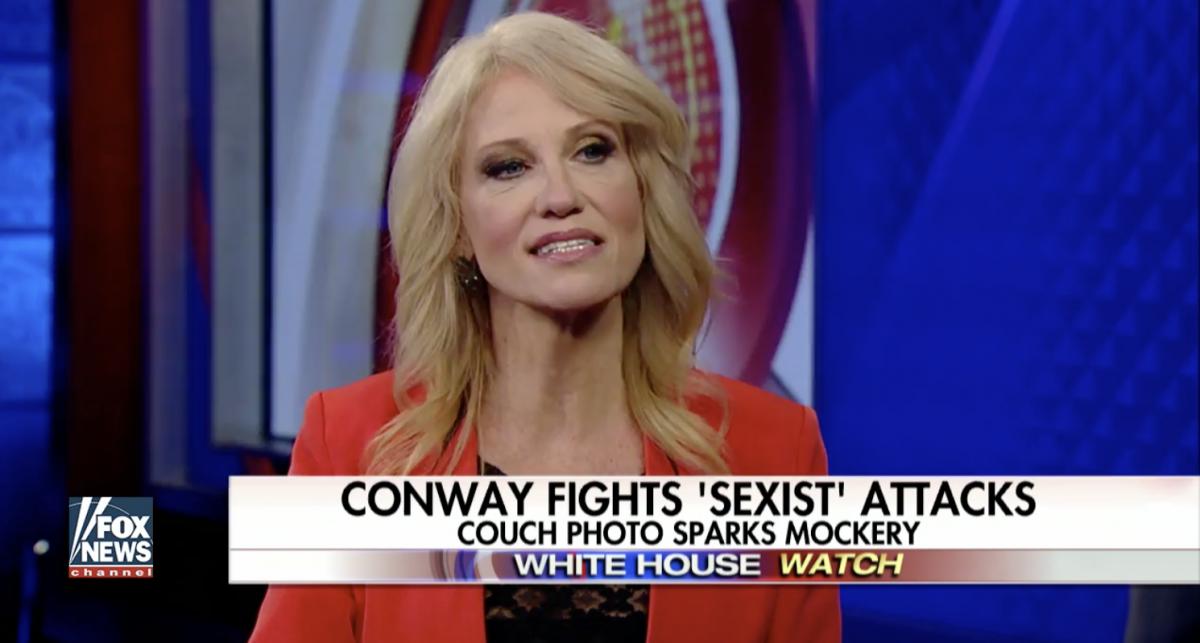 Kellyanne Conway calls out Nancy Pelosi (Screenshot/Fox News)