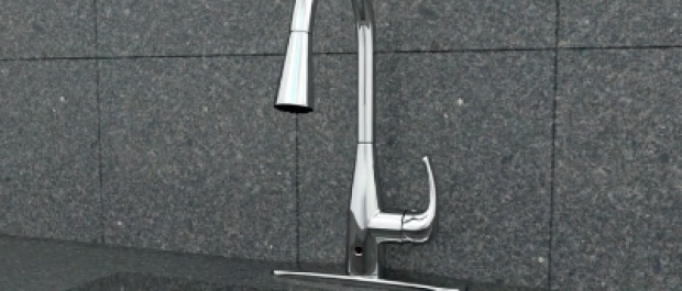This faucet is on sale, today only (Amazon Video screenshot)