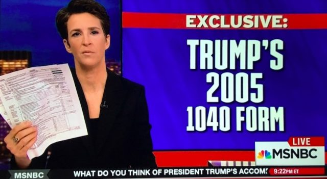 Maddow on Trump Tax Scoop Fail: People expected too much