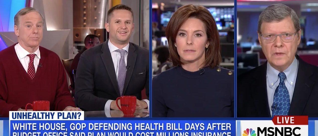 Stephanie Ruhle leads MSNBC panel (MSNBC)