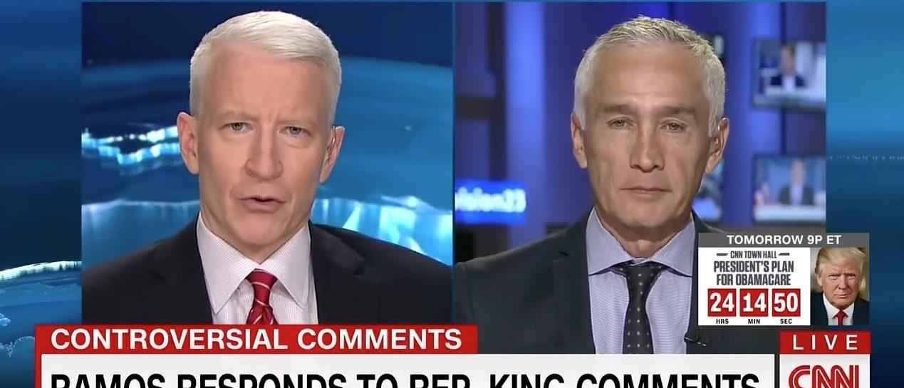 Anderson Cooper, Jorge Ramos (CNN)