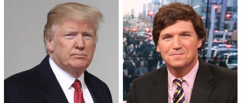 Donald Trump, Tucker Carlson (Getty Images)