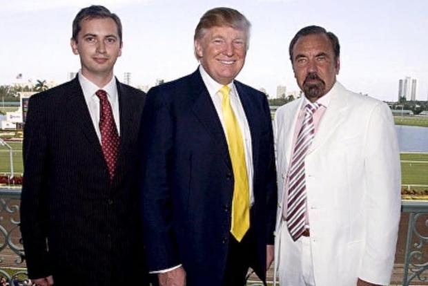 Sergei Millian, Donald Trump, and Related Group CEO Jorge Perez, 2007. (via Facebook)
