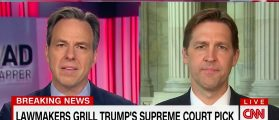 CNN Airs 'LIVE' Ben Sasse Interview At The Same Moment He's Questioning Gorsuch On CSPAN [VIDEO]