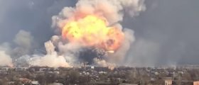 Ukrainian Ammo Depot Explodes — Authorities Suspect Foul Play [VIDEO]