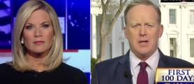 White House press secretary Sean Spicer on Fox News 3(Screen Grab/Youtube - The Viral Network)
