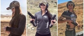 This Smoke Show Loves Guns And Gorgeous Instagram Posts