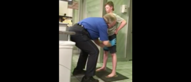 Mother 'Livid': Watch This TSA Agent Thoroughly Pat Down A Child