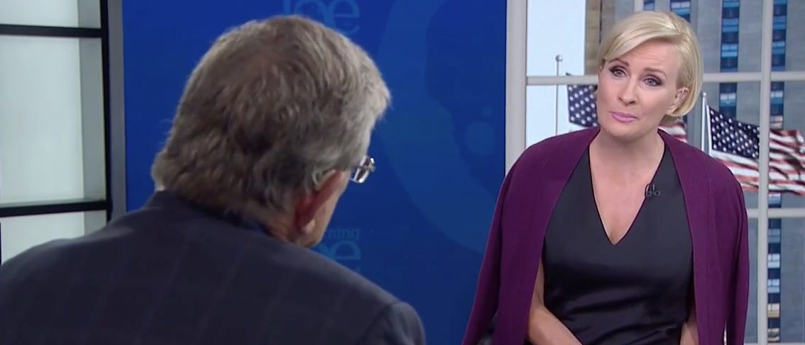 Jeff Greenfield, Mika Brzezinski (MSNBC)