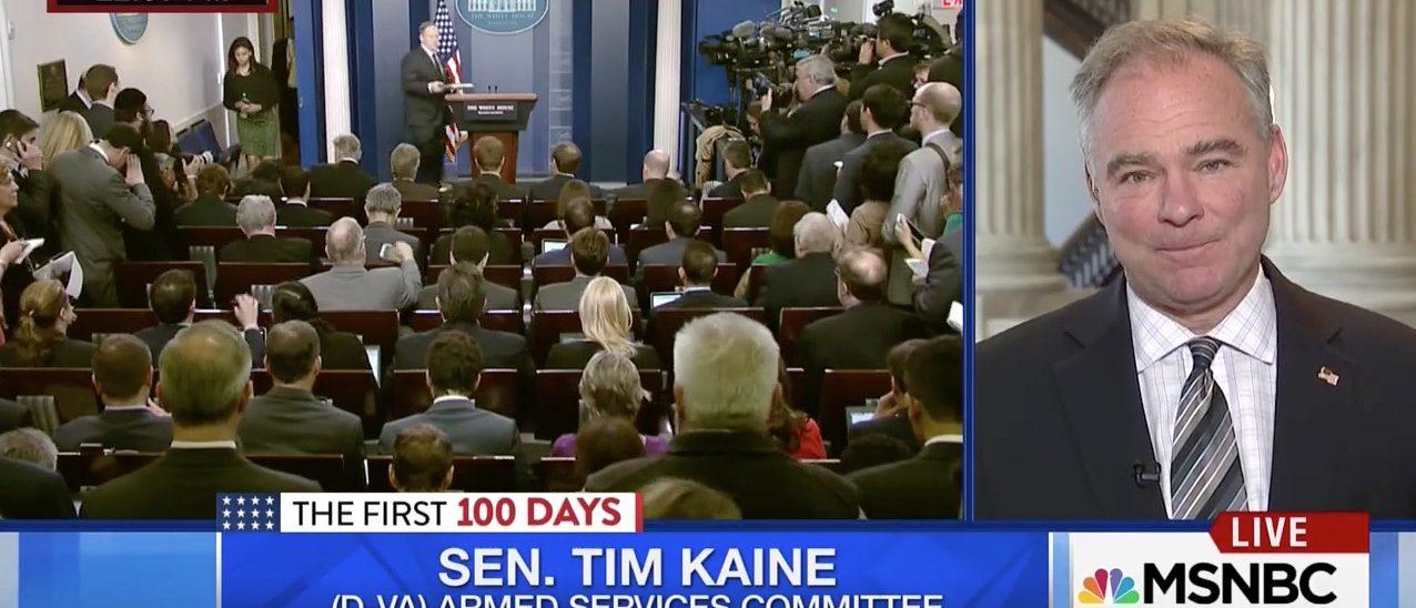 Tim Kaine (MSNBC)