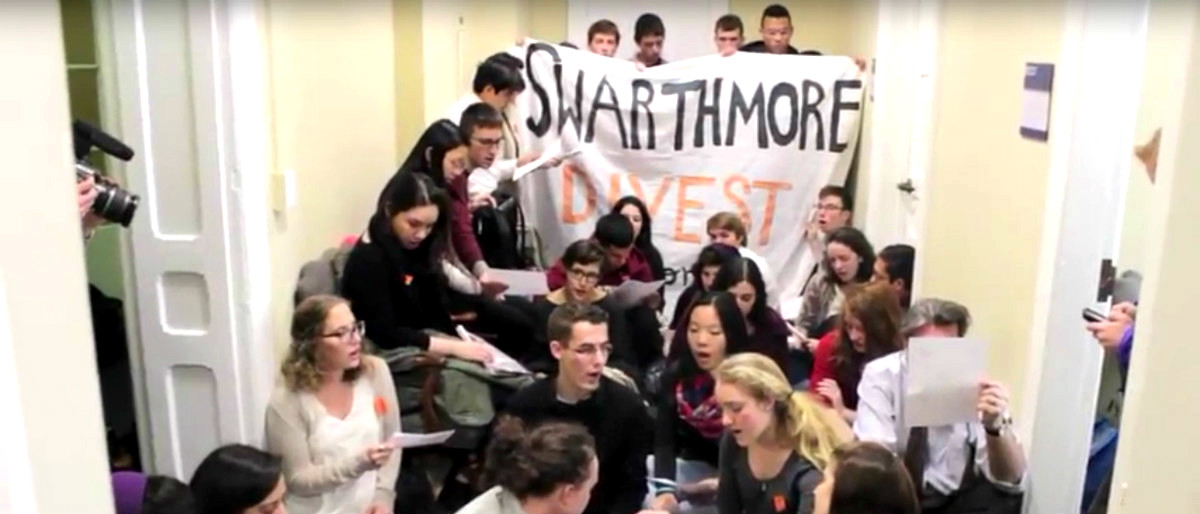 Swarthmore protest/Swarthmore Mountain Justice