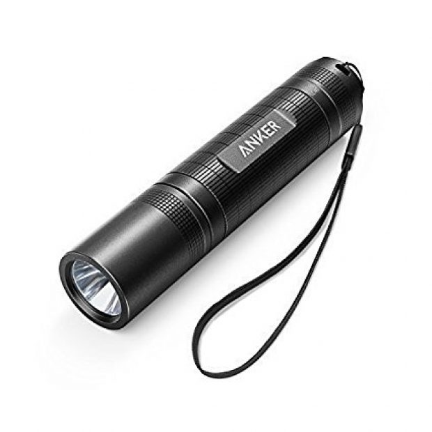 Normally $20, this flashlight is 50 percent off (Photo via Amazon)