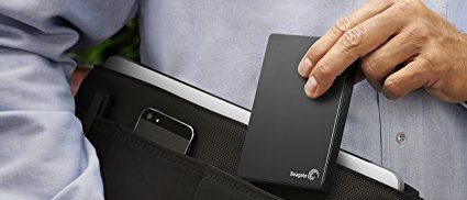 This external hard drive is on sale today (Photo via Amazon)