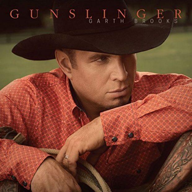 """Gungslinger,"" Brooks' 10th studio album, was released in November (Photo via Amazon)"