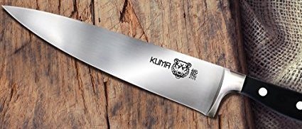 This knife is razor sharp out of the box (Photo via Amazon)