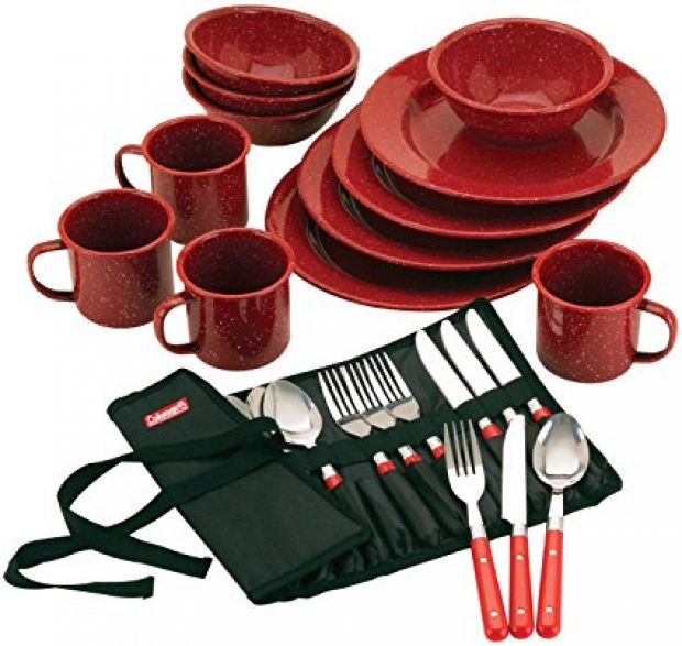 Normally $33, this dinnerware set is 41 percent off today (Photo via Amazon)