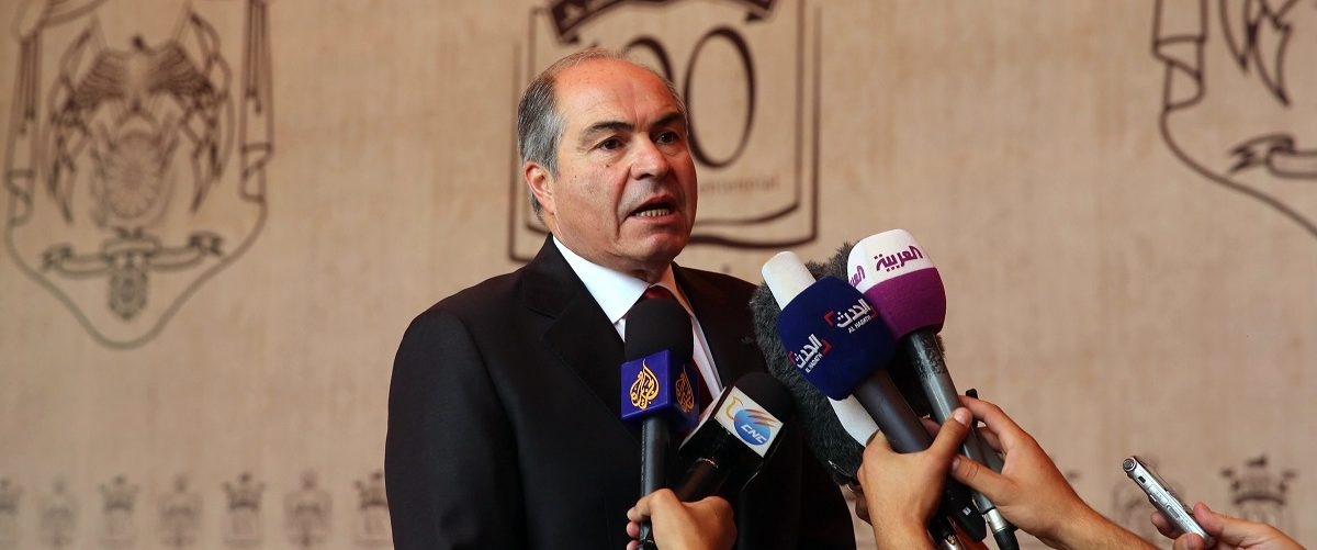 Mulki formed a government to prepare for legislative elections following the dissolution of parliament as its four-year term ended on May 29, 2016 the royal palace announced. Khalil Mazraawi/AFP/Getty Images.