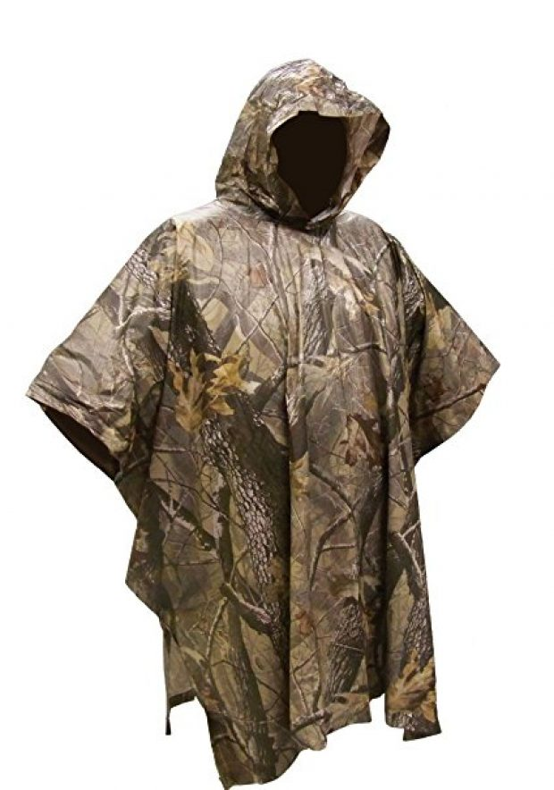 Normally $13, this poncho is 35 percent off today (Photo via Amazon)