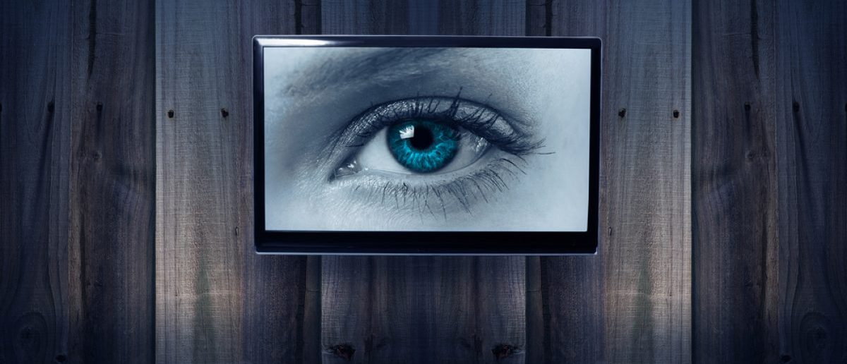 "Your television may have ""eyes"" and ""ears."" [Shutterstock - gmstockstudio]"