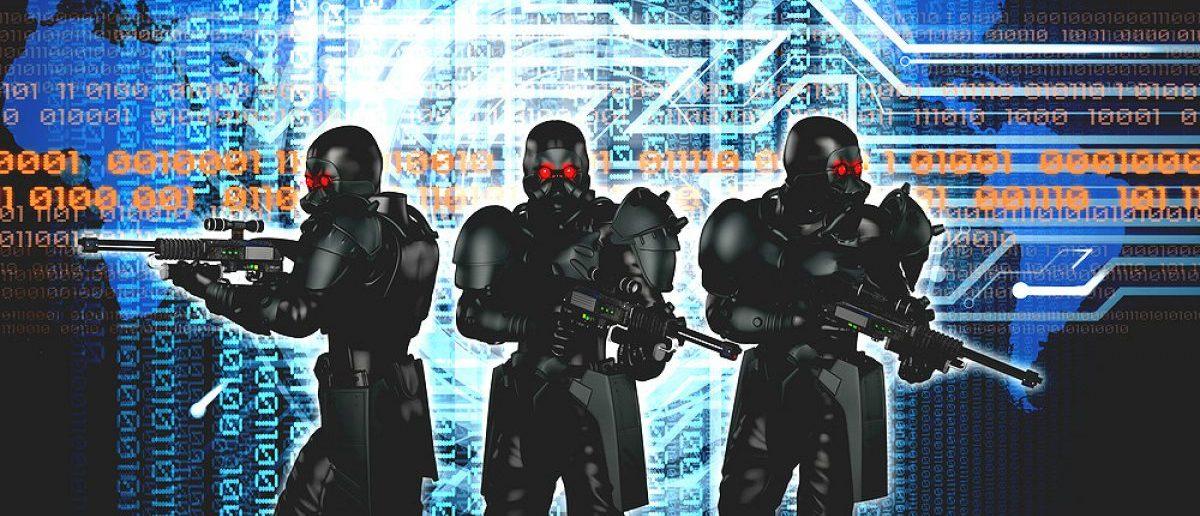 Cyberwarfare, the global war of the future. [Shutterstock - Oliver Denker]