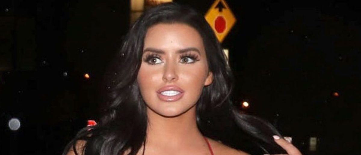 Abigail Ratchford models topless in hot beach photoshoot