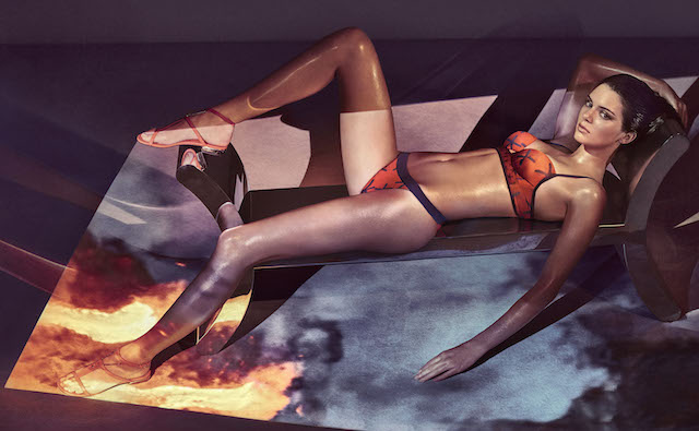 Picture by: Steven Klein/La Perla/Splash