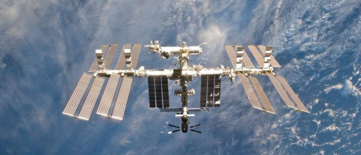 FILE PHOTO - The International Space Station is seen in this view from the space shuttle Discovery after the undocking of the two spacecraft in this photo provided by NASA and taken March 7, 2011. Courtesy NASA/Handout via REUTERS