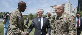 Mattis Pops Into Afghanistan, Afghan Defense Minister Up And Resigns
