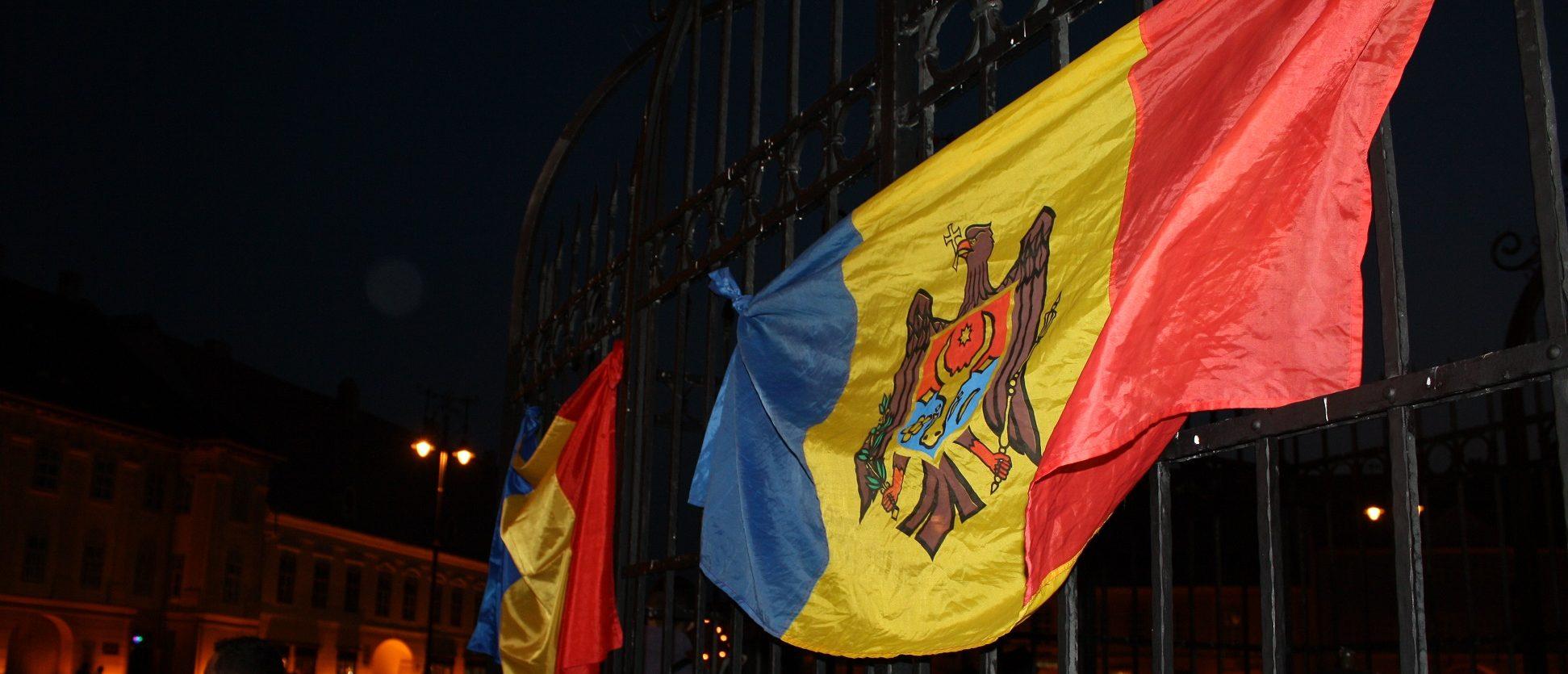 The flag of Moldova (Media credit: Wikimedia)