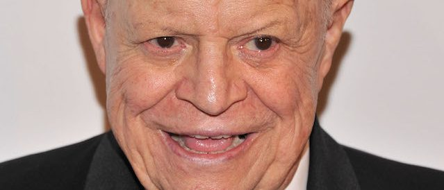 NEW YORK, NY - JUNE 24: Comedian Don Rickles attends The Friars Foundation Annual Applause Award Gala at The Waldorf=Astoria on June 24, 2013 in New York City. (Photo by Stephen Lovekin/Getty Images)