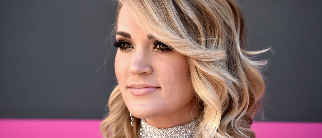 Carrie Underwood attends the 52nd Academy Of Country Music Awards at Toshiba Plaza on April 2, 2017 in Las Vegas. (Photo by Frazer Harrison/Getty Images)