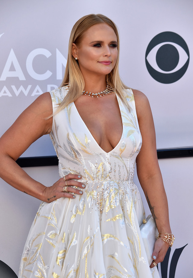 LAS VEGAS, NV - APRIL 02: Recording artist Miranda Lambert attends the 52nd Academy Of Country Music Awards at Toshiba Plaza on April 2, 2017 in Las Vegas, Nevada. (Photo by Frazer Harrison/Getty Images)