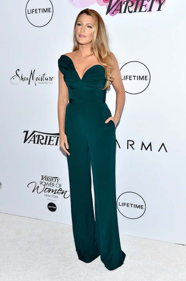 NEW YORK, NY - APRIL 21: Honoree Blake Lively attends Variety's Power Of Women: New York at Cipriani Midtown on April 21, 2017 in New York City. (Photo by Mike Coppola/Getty Images)