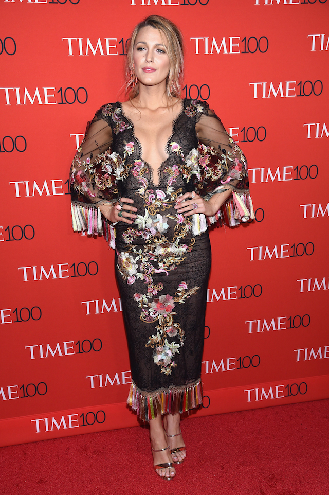 NEW YORK, NY - APRIL 25: Actress Blake Lively attends the 2017 Time 100 Gala at Jazz at Lincoln Center on April 25, 2017 in New York City. (Photo by Dimitrios Kambouris/Getty Images for TIME)