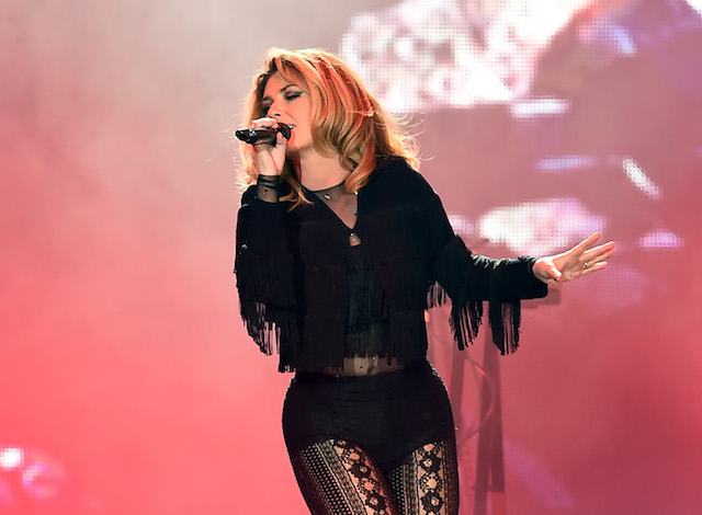 INDIO, CA - APRIL 29: Singer Shania Twain performs on the Toyota Mane Stage during day 2 of 2017 Stagecoach California's Country Music Festival at the Empire Polo Club on April 29, 2017 in Indio, California. (Photo by Kevin Winter/Getty Images for Stagecoach)