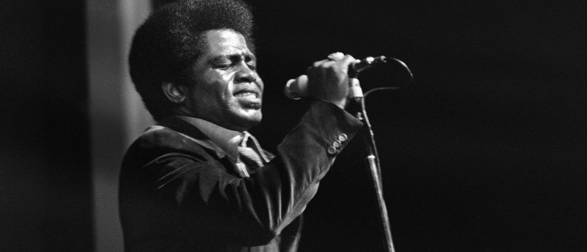 In this file picture taken in September 1971, James Brown performs at the Olympia hall in Paris. (Photo: AFP/Getty Images)