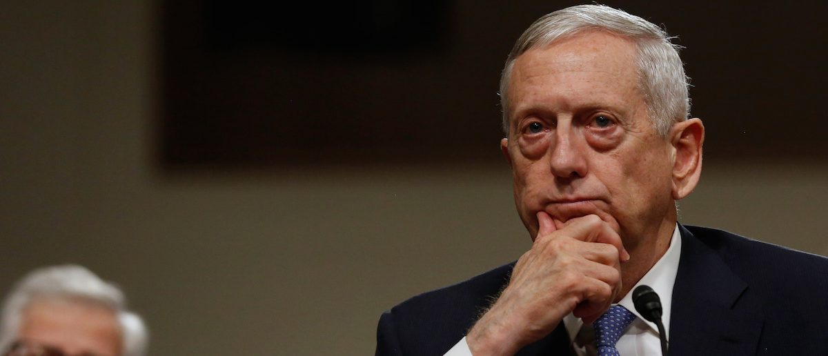 James Mattis testifies before a Senate Armed Services Committee hearing on his nomination to serve as defense secretary in Washington, U.S. January 12, 2017. ( Photo: REUTERS/Jonathan Ernst)