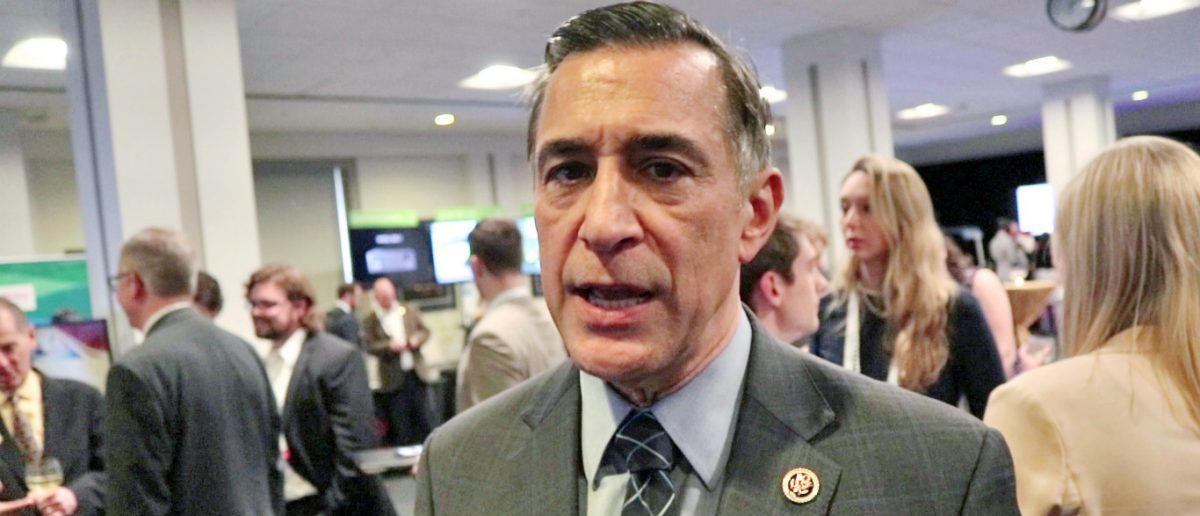 Here is a photo of Republican Congressman Darrell Issa. (Mike Raust/The Daily Caller)