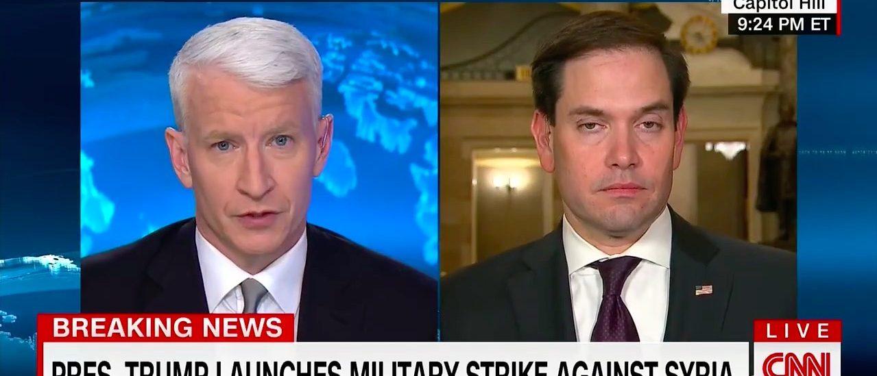 Anderson Cooper, Marco Rubio (CNN)