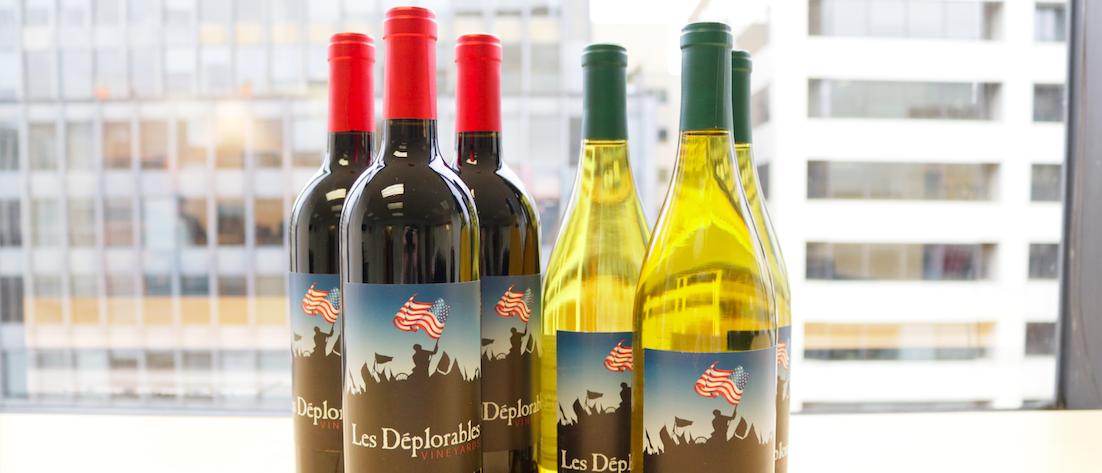Les Deplorables wine (Mike Raust)