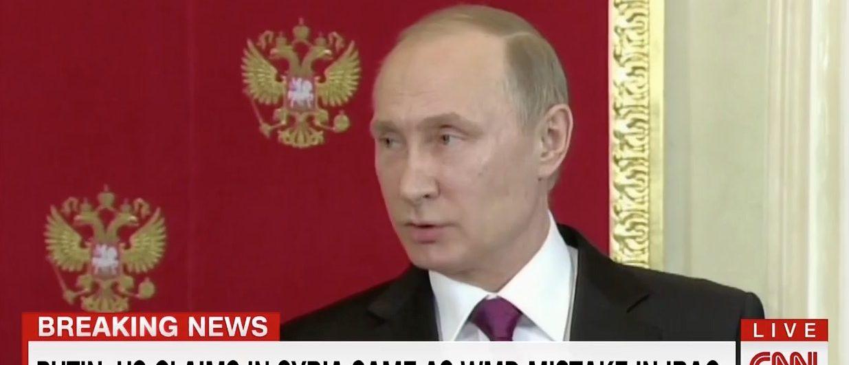 Vladimir Putin (CNN)