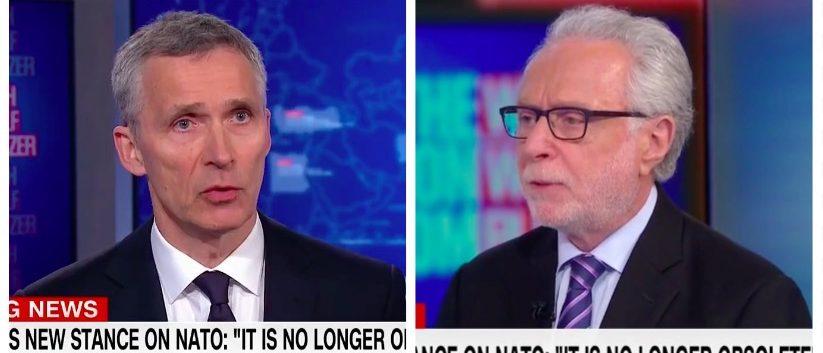 Jens Stoltenberg, Wolf Blitzer (CNN)