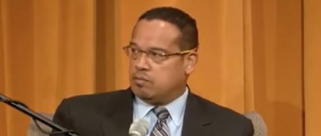 Keith Ellison discusses Obama at University of Minnesota, April 19, 2017. (Youtube screen grab)