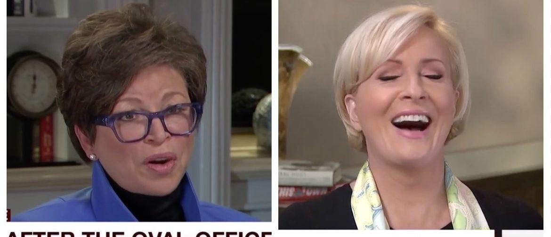 Valerie Jarrett, Mika Brzezinski (MSNBC)
