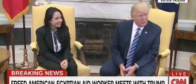 After Freeing Her From An Egyptian Prison, Trump Hosts Aya Hijazi At The White House [VIDEO]