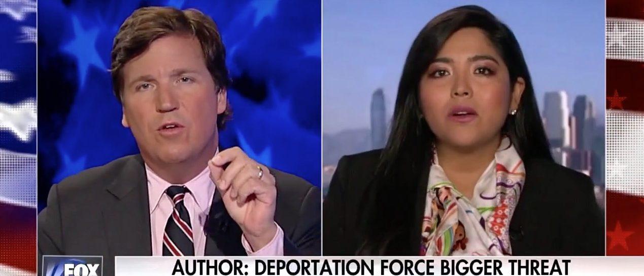 Tucker Carlson, Julissa Arce (Fox News)