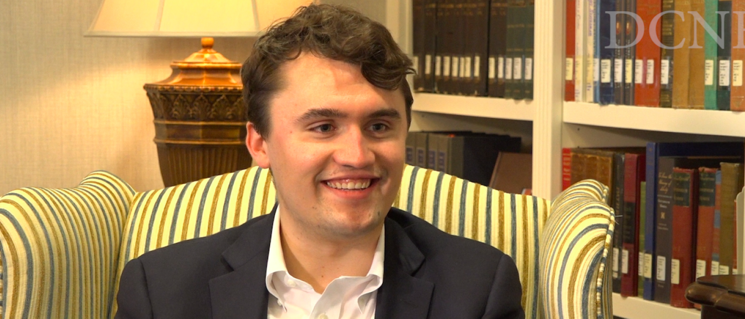 Charlie Kirk of Turning Point USA -- Sean Moody/The Daily Caller News Foundation